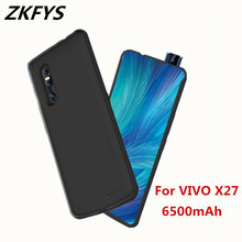 ZKFYS Battery Case For VIVO X27 Battery Charger Case 6500mah Power Bank Case Portable Fast Charger Battery Cover