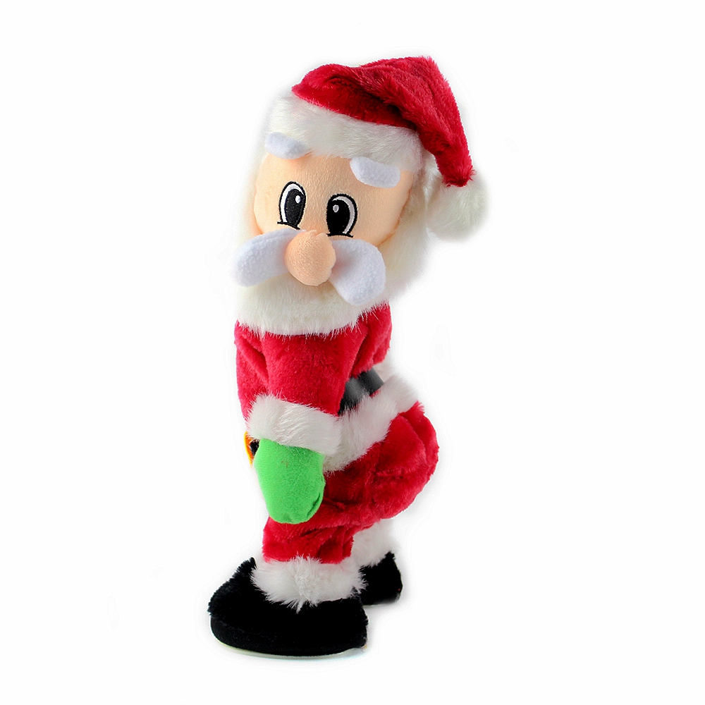 Toys From Santa : Christmas electric twerk santa claus toy xmas music