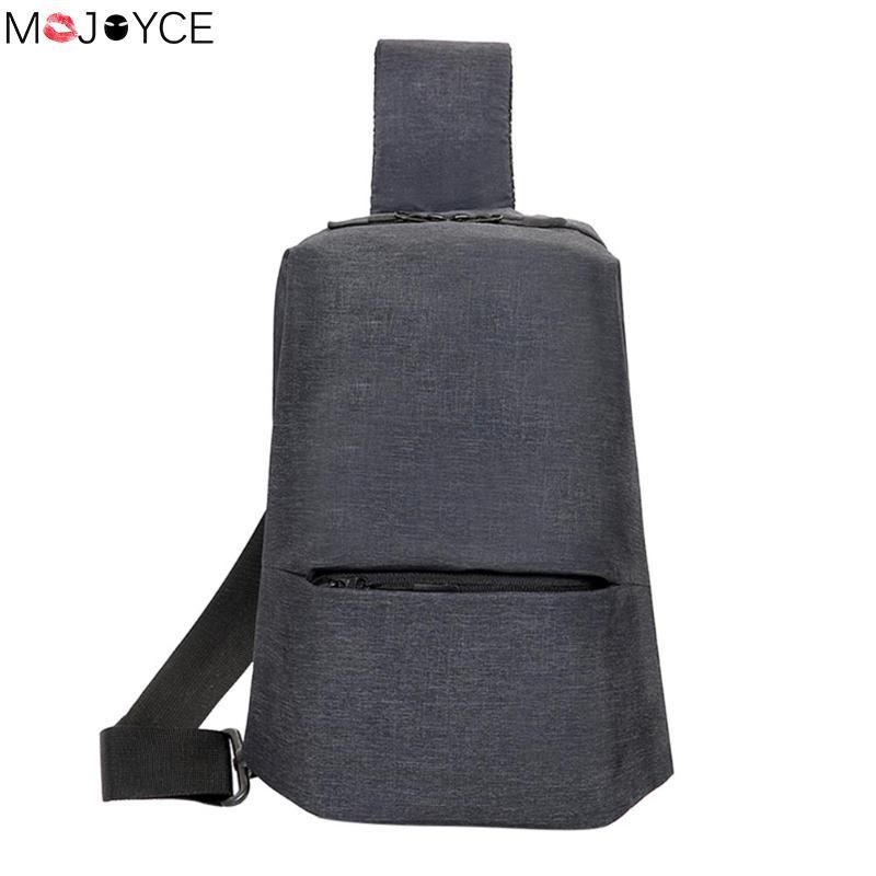 Anti-Theft MenS Messenger Bag Shoulder Bags Men Chest Pack Mens Retro Crossbody Bag Cool Motorcycle Sling Bag