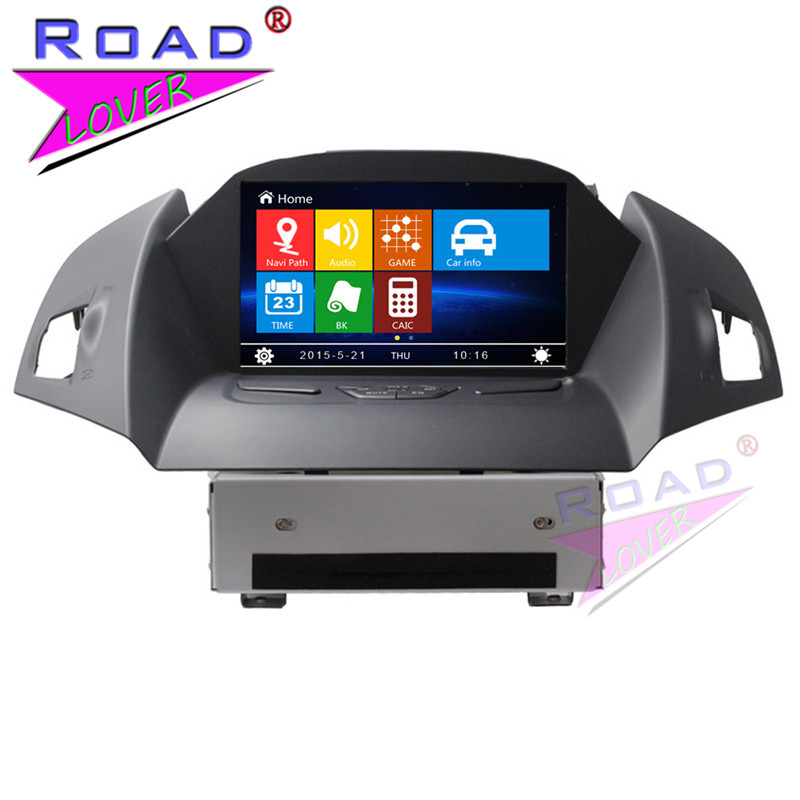 TOPNAVI Wince 6.0 Two Din 8 Car Media Center DVD Player Auto Video For Ford Kuga Escape 2013- Stereo GPS Navigation TFT Touch