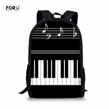 FORUDESIGNS Piano Keyboard Fashion Middle School Students Sc