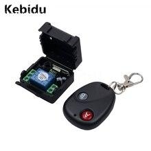 Kebidu אלחוטי שלט רחוק מתג מרחוק בקר DC12V 10A 433MHz Telecomando משדר עם מקלט