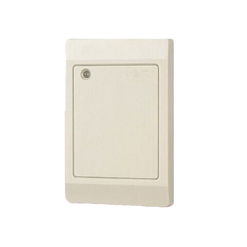 Free Shipping standard Waterproof White color Default 125Khz EM RFID Reader WG26 / 34 Card Key fob Reader Access Control System waterproof hot selling for rfid card reader access control system identification card reader with wg26 34 f1683