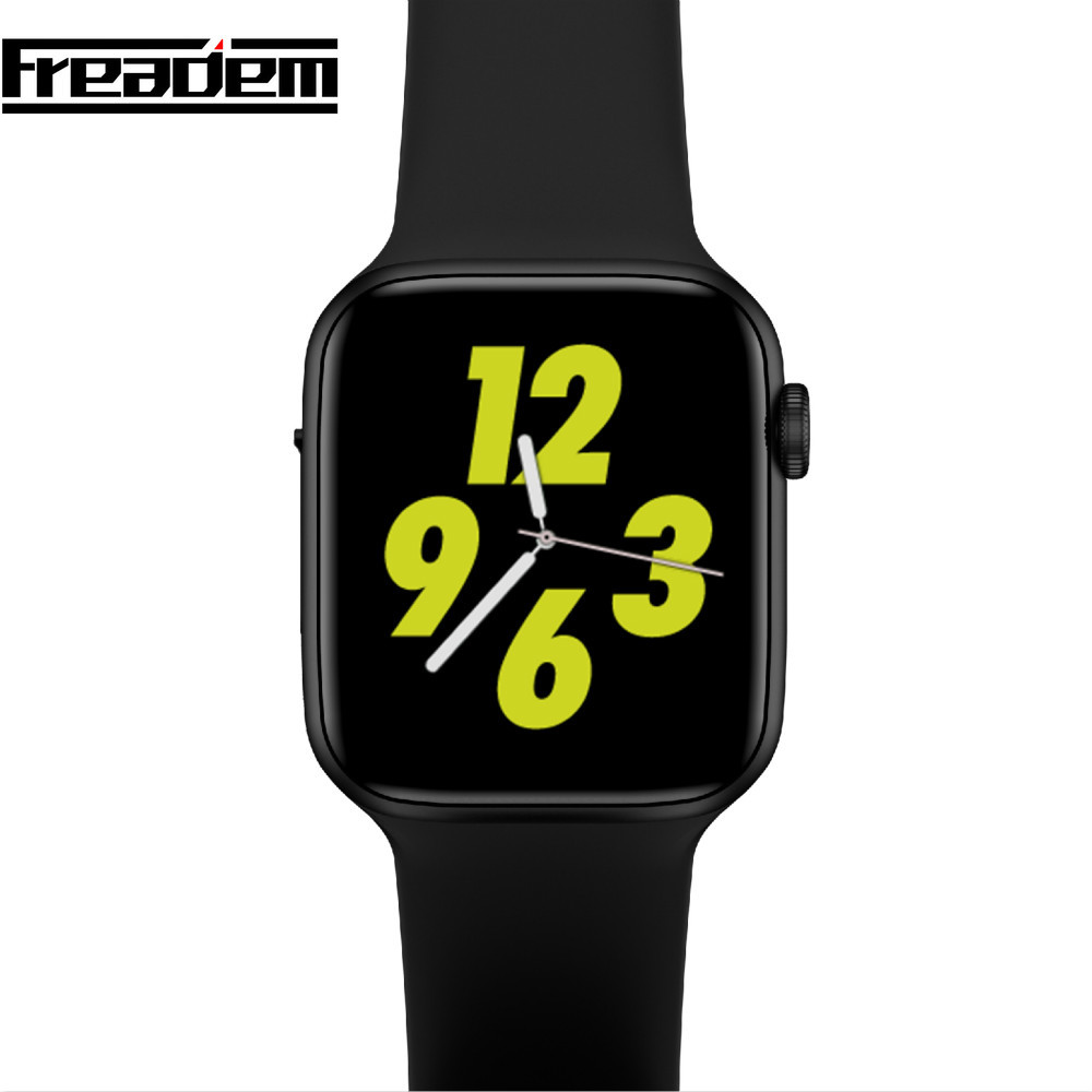 Iwo 8 Plus 44mm Relógio Inteligente Android Freqüência Cardíaca ecg ppg Bracelect Relógio Inteligente Relógio De Pulso Do Bluetooth Inteligente Para IOS PK IWO 8