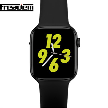 Iwo 8 Plus iwo8 lite 44mm reloj Inteligente Android ecg PPG de frecuencia cardíaca Inteligente reloj Bluetooth Bracelect