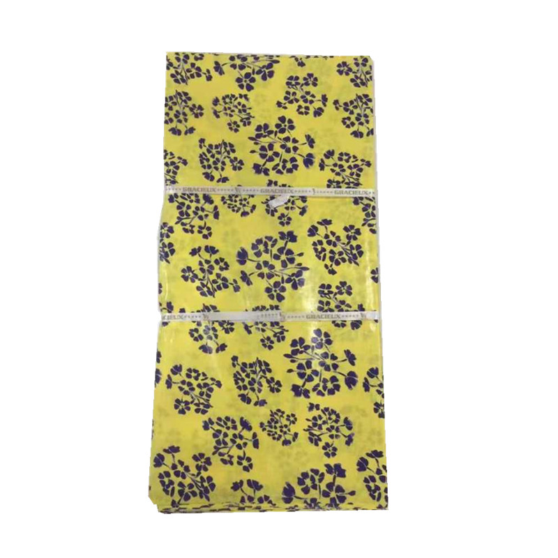 Yellow color African Damask Guinea Printed Brocade Bazin Riche Fabric 10 yards per pieceYellow color African Damask Guinea Printed Brocade Bazin Riche Fabric 10 yards per piece