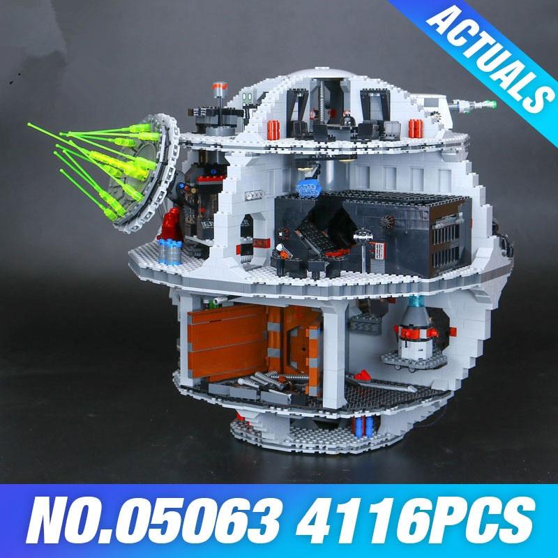 Лепин 05063 Star Wars Death UCS Rogue план силы пробудить Набор строительных Конструкторы кирпич развивающие игрушечные лошадки детей 79159 DIY подарок