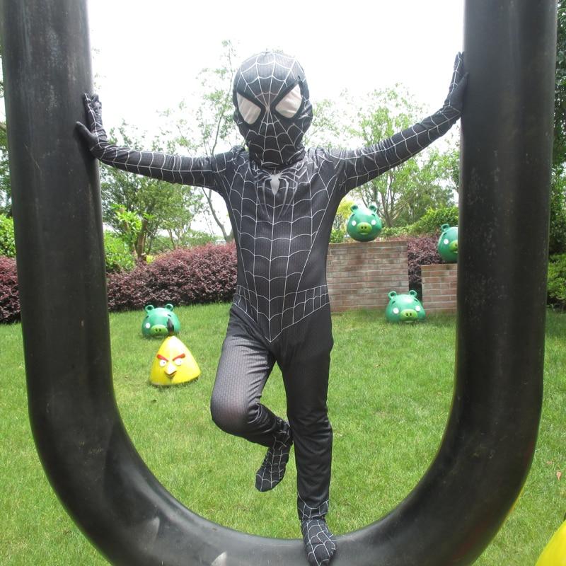 ΝΕΟ Μαύρο Spiderman Αγόρια Venom Κοστούμια - Καρναβάλι κοστούμια - Φωτογραφία 2