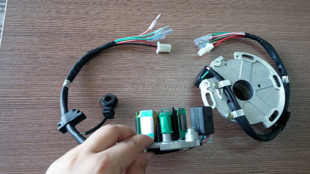 CANTIDAD OEM para LIFAN150 MOTORCYCLE MAGNETO COIL para bobina de - Accesorios y repuestos para motocicletas - foto 4