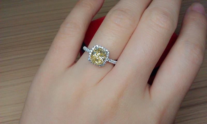 aliexpresscom buy choucong valuable jewelry lady diamonique cz 925 silver wedding band ring for women sz 5 10 gift from reliable ring zipper suppliers on - Diamonique Wedding Rings