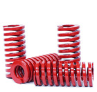 Od 16mm Id 8mm Coil Medium Load Stamping Compression Mold Die Spring .Red Long Medium Load Stamping Compression Mold