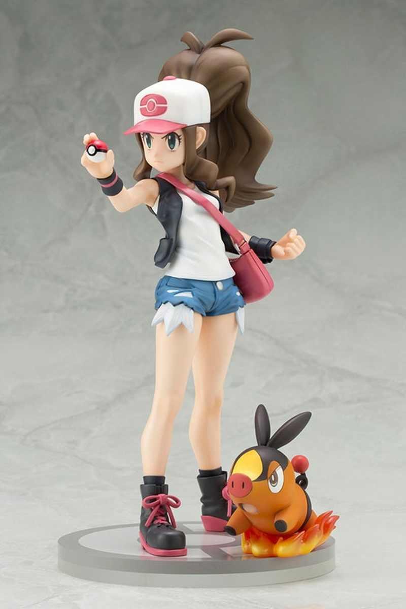 Novo ARTFX + Touko com Pokabu Figura Modelo Brinquedos Presentes de Aniversário 20 cm
