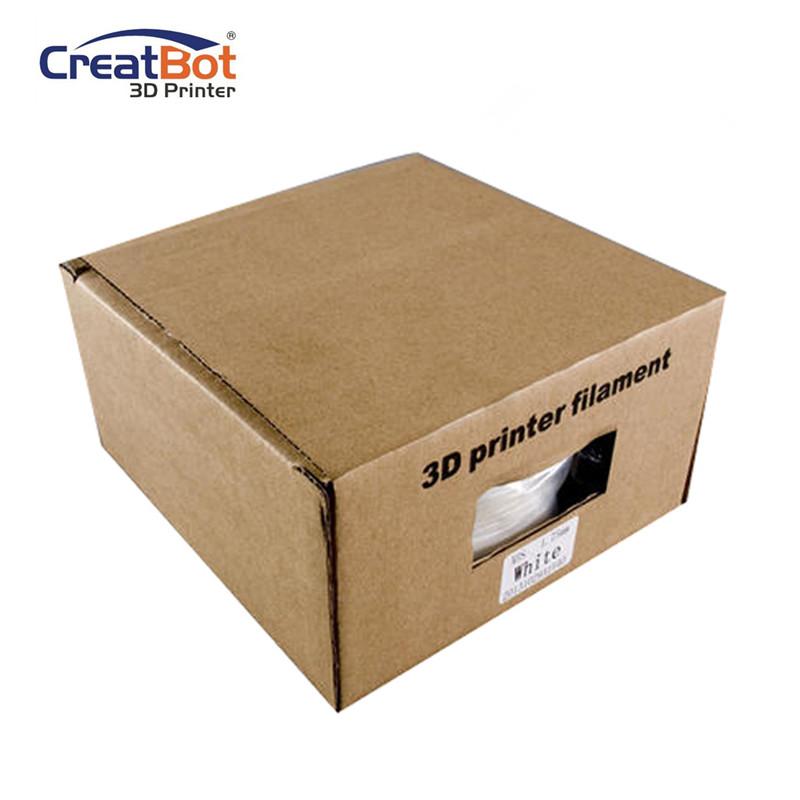 CreatBot 3D Printer Filament 1.75mm TPU Flexible Filament 0.8KG Spool, Dimensional Accuracy +/- 0.05mm