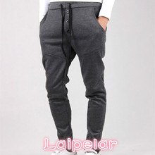 2018 Men Casual Pants Cool New Tracksuit Trousers Harem Sweatpants Hip Hop Loose Mens Joggers Laipelar