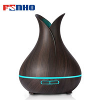 FUNHO 400ML Air Aroma Humidifier Essential Oils For Aromatherapy Diffusers USB Charging Ultrasonic Fogger For Home