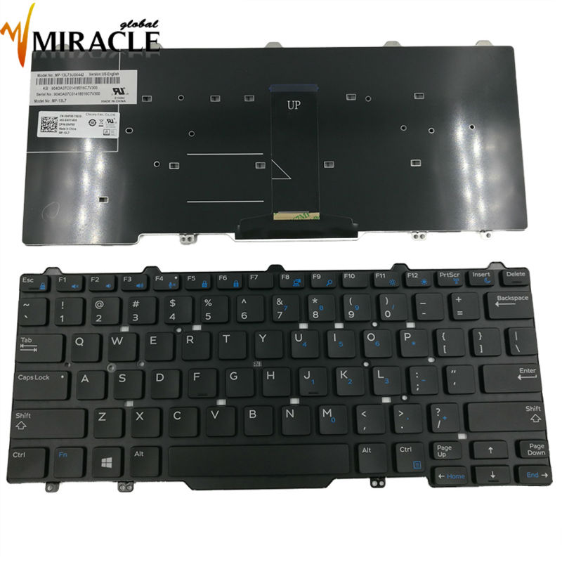 Laptop Keyboard for Dell Latitude 3340 3350 E3340 US ...