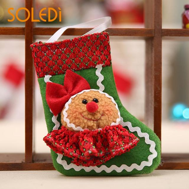 socks gift bags gingerbread christmas decoration for home man style christmas ornaments christmas tree decorations - Gingerbread Christmas Tree Decorations