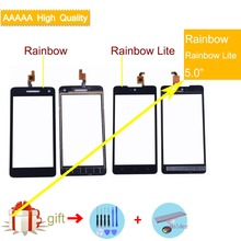 For Wiko Rainbow/Rainbow Lite/Rainbow Jam 3G/Rainbow 4G Touch Screen Panel Sensor Digitizer Front Outer Glass Touchscreen