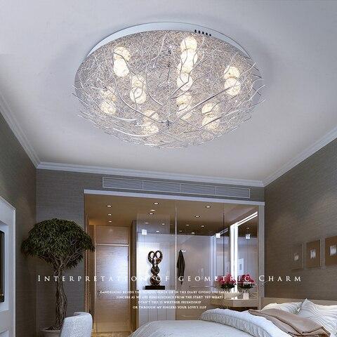 luminarias sala estar lampadas ninho passaro quarto dos miudos iluminacao teto