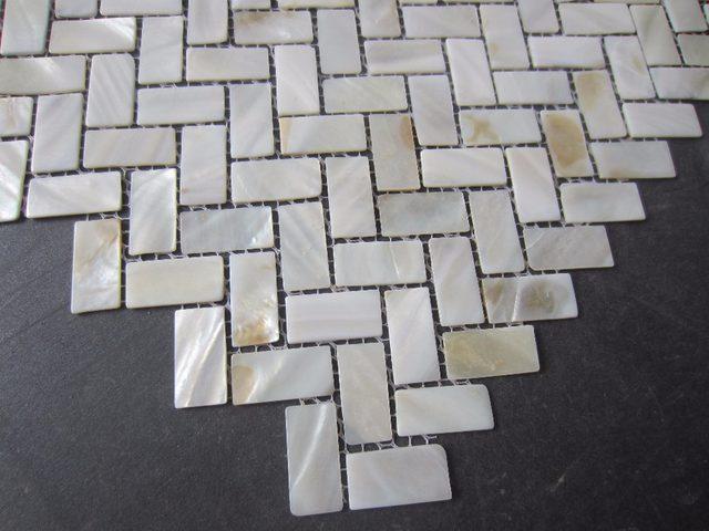Online shop nuovo mosaico piastrella; 15x30 mm madre di pearl tiles