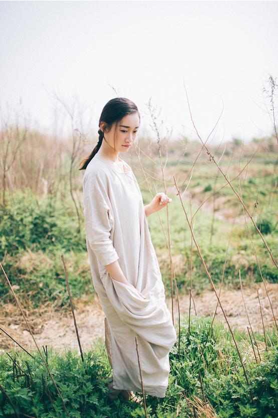 Плюс размер хлопок и лен Ретро женское Платье Халаты сафьян, турецкие халаты платья Свободное длинное богемное пляжное платье женские макси платья