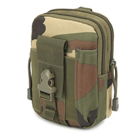 Empty Bag for  Emergency Kits Military Waist bag Outdoor Camouflage First Aid Kit Convenient Travel  Pouch