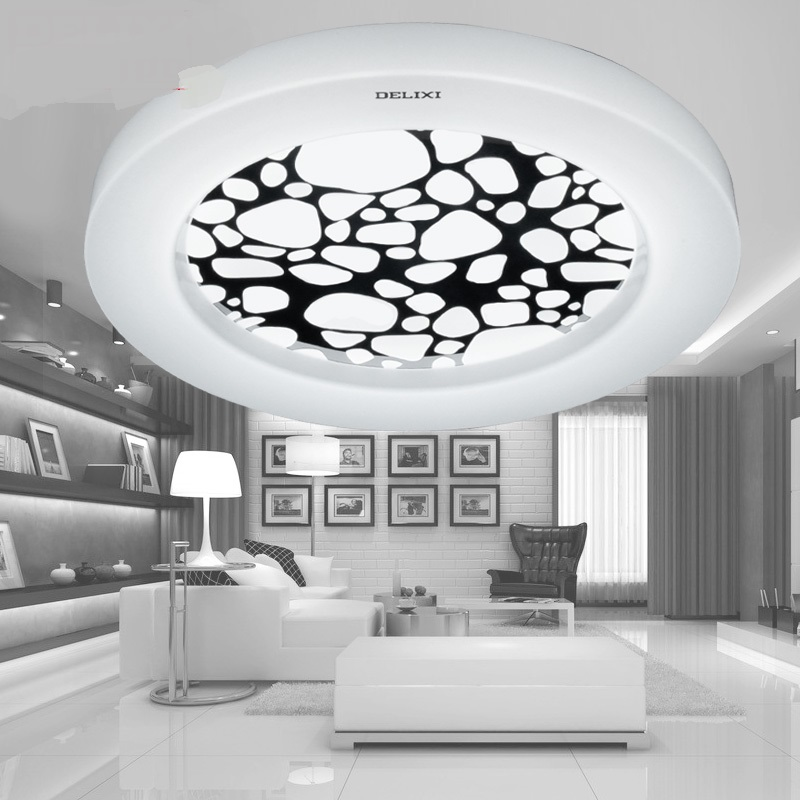 LED Ceiling Lights modern simple Bedroom romantic warm study round living room living room lamp LU811244 t10
