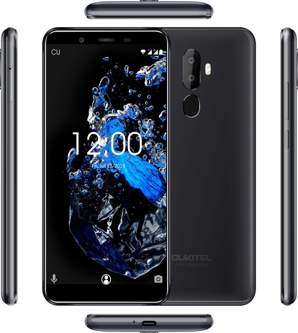 Image 3 - Original OUKITEL U25 Pro 4GB+64GB Fingerprint 5.5inch Smartphone Android 8.1 MTK6750T Octa Core Dual SIM LTE 4G OTG Mobile Phone-in Cellphones from Cellphones & Telecommunications