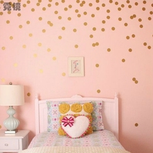 Modern Polka Dots Remove Wall Sticker Vinyl Wall Art DIY Cartoon Home Decor  For Children Kid Living Room Bedroom XHH8111 Part 63