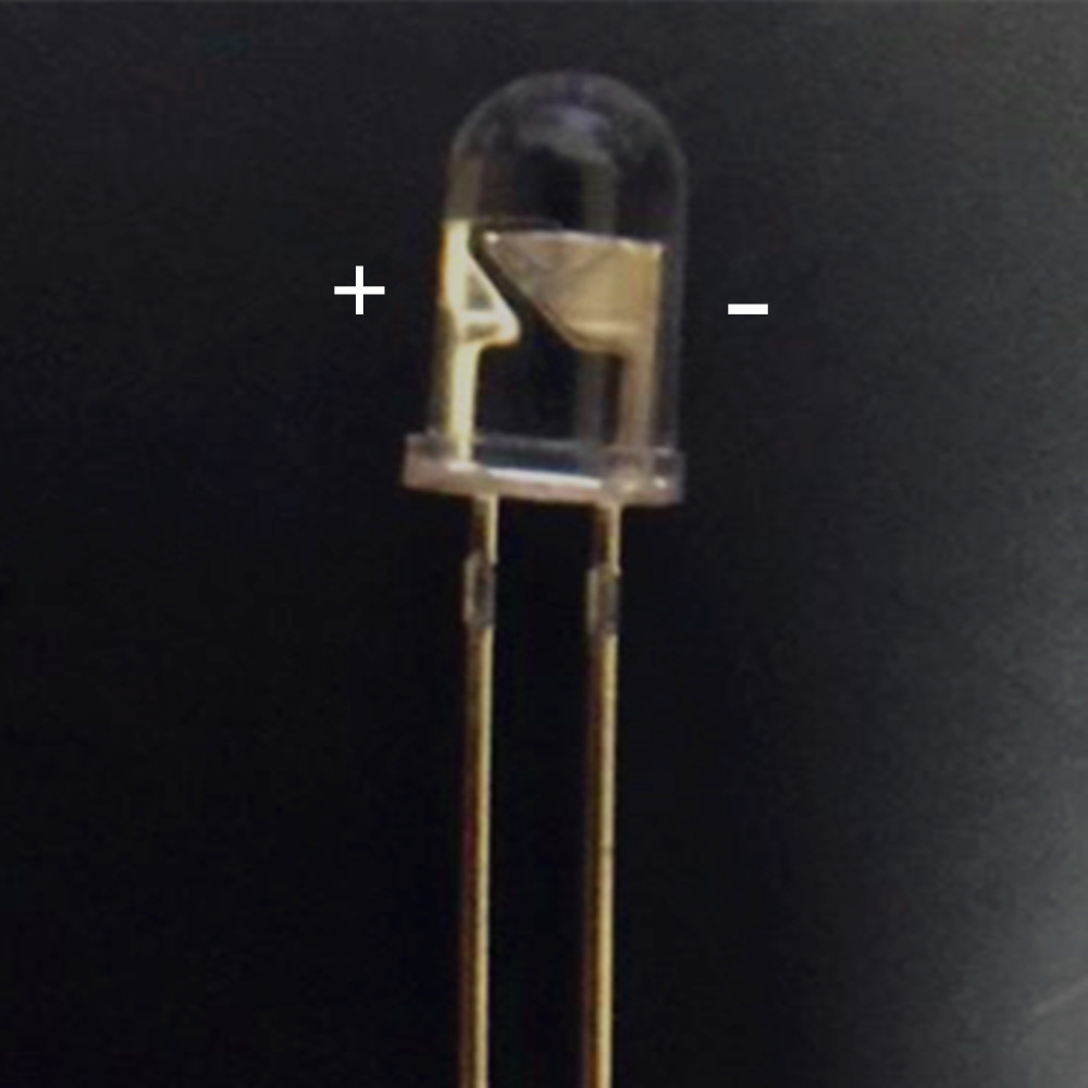 10 шт./лот 940nm 5 мм 60 градусов Инфракрасный светодиодный ночное видение невидимые ИК диоды светодиодный диоды для подавления переходных скачков напряжения для 6 мм объектив 12mil чип 60mA