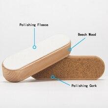 XCMAN Combo Fleece and cork Block For Ski Snowboard liquid wax
