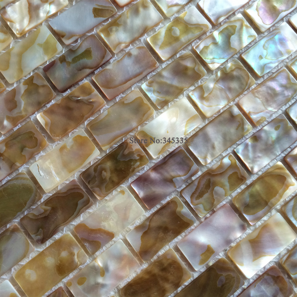 Fliesen Mosaik Perlmutt Neue Fischgratenmosaikfliese Perlmutt