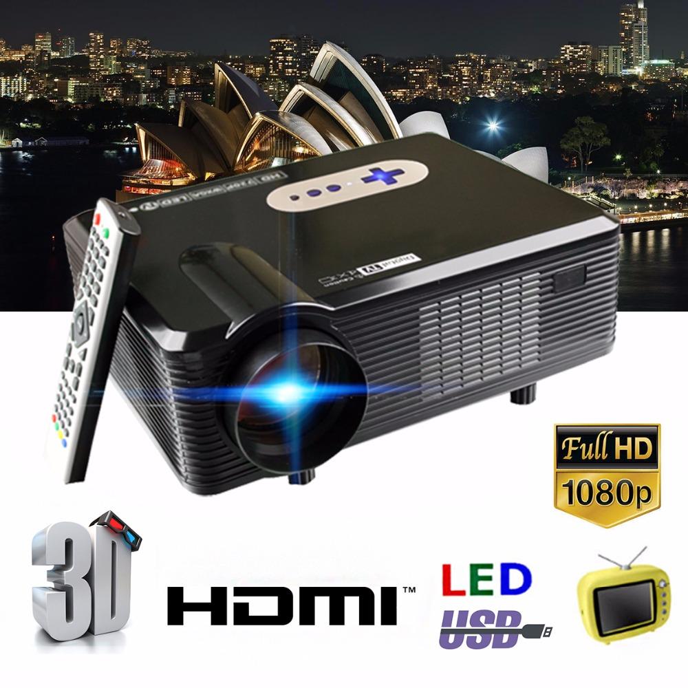 Prix pour HOT Excelvan CL720D Projecteur 3000 Lumens HD Home Cinéma 720 P soutien 1080 P Led Projecteur HDMI/VGA/USB/AV/DTV projecteur