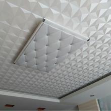 Потолочная настенная бумага 3D стерео белый бриллиант ПВХ тисненая настенная бумага водонепроницаемая гостиная спальня потолочная декоративная настенная бумага