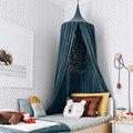 Милый детский фон для фотосъемки с москитной сеткой  украшение для детской комнаты  домашний навес для кровати  занавеска  круглый для крова...