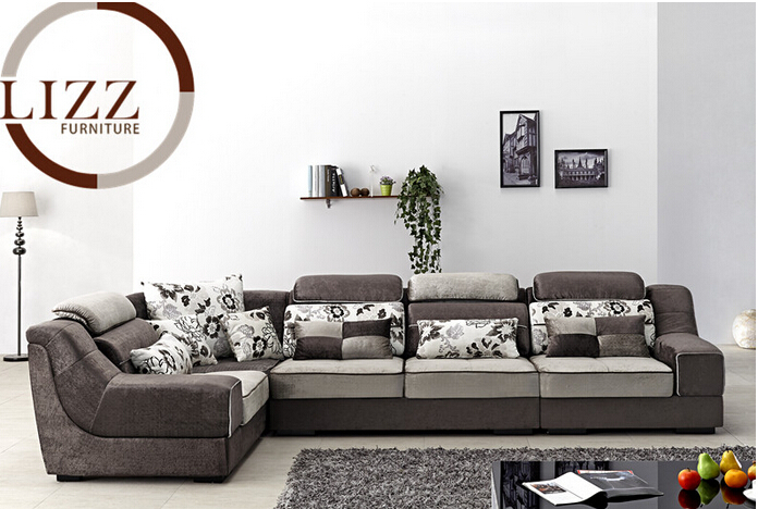 Lizz Furniture New Porduct Upholstery Modern Fabric Sofa