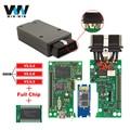 VAS 5054A ODIS V3.0.3 Bluetooth Full OKI Chip VAS5054A OKI for VW for Audi for Skoda for Seat OBD2 Car-detector Diagnostic Tool