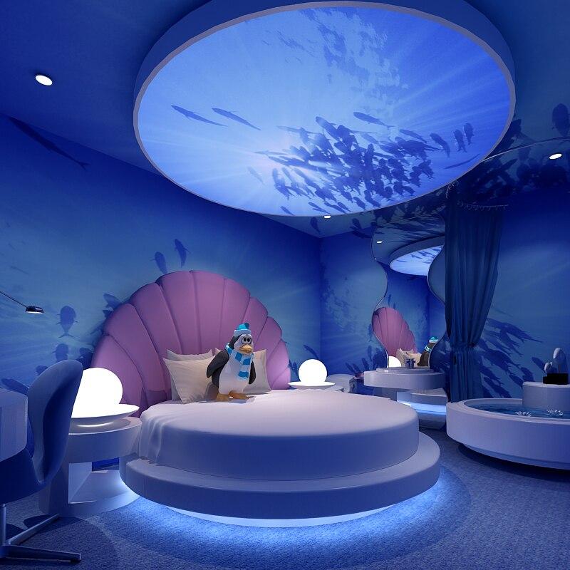 Good 3D Personalized Custom Total Athlete Bedroom Ocean Theme Room Restaurant  KTV Large Mural Wallpaper Wallpaper Papel De Parede In Wallpapers From Home  ...