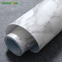 3M 5M 10M Marble Waterproof Vinyl Self Adhesive Wallpaper Modern Contact Paper Kitchen Cupboard Shelf Drawer