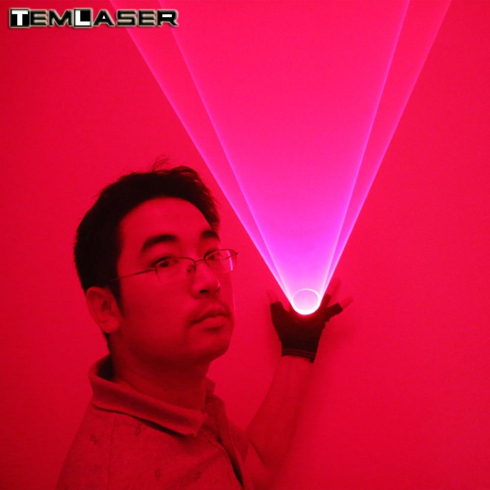 Бесплатна достава 650нм црвени ласерски вртлог ручни ласерски топ за клуб ротирајући ласери Схов Лигхт Пуб Парти Ласер Схов