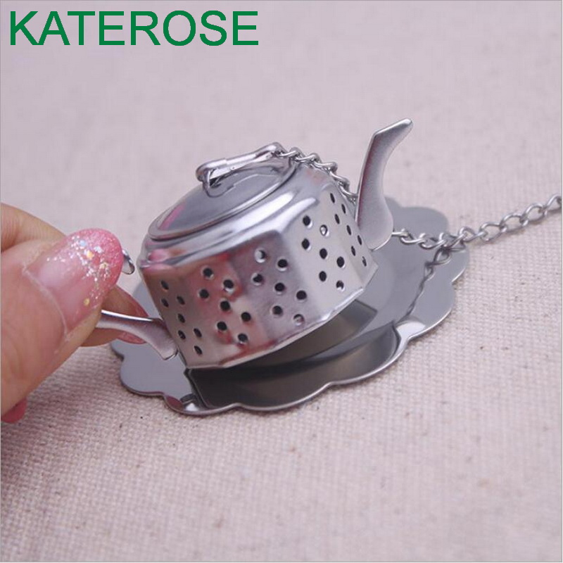 15PCS Whimsical Wedding souvenirs of Teapot Tea Infuser Wedding gifts for Wedding and Party Tea themed Bridal Favors