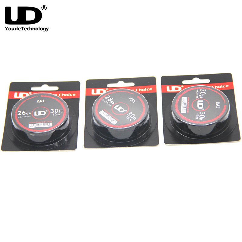 Original Youde UD KA1 Wire Roll 30FT with 30ga 28ga 26ga Heating wire DIY for E Cigarette Mod Vape Tank Atomizer Pre-built coils брюки the north face the north face horizon convertible