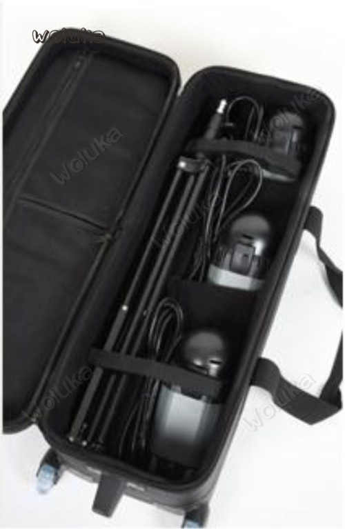 Falconeyes Professional Photo Camera CC-20 Pulley Camera Box Trolley Camera Case Photo Pack Flash Tray CD50 T06