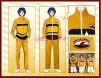 Anime! The Prince of Tennis KiriharaAkaya Seishun Academy School Uniform Cosplay Costume For Unisex Sportsuits Free Shipping