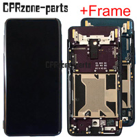 6.42 New lcd with frame For Oppo Find X findx LCD display touch screen sensor digitizer assembly replacement free shipping
