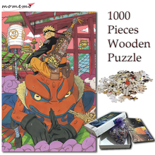 MOMEMO Jigsaw Puzzle 1000 Pieces Naruto Gama Cartoon Anime Puzzles for Adults NARUTO Games Kids Children Toys