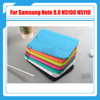 Smart Cover Business Leather Case Book Slim Folding Stand Case For Samsung Galaxy Note 8 0