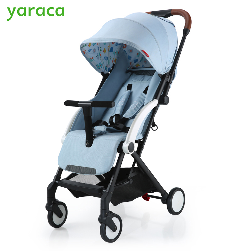 Baby Stroller Folding Baby Carriage Lightweight Prams For Newborns Portable Baby Cart For Travel Sit Lying Mode Baby Pushchair msp301n used in good condition