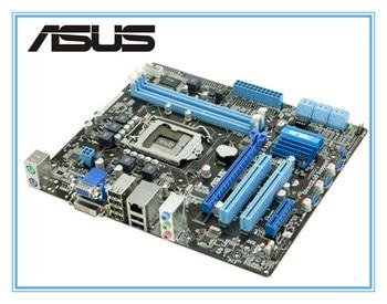 ASUS original USED  motherboard  P7H55-M PLUS H55 support I3 I5 I7 Desktop motherboard Socket LGA 1156 DDR3 8GB uATX mainboard for asus b250 mining expert original used desktop intel b250 b250m ddr4 motherboard lga 1151 i7 i5 i3 usb3 0 sata3