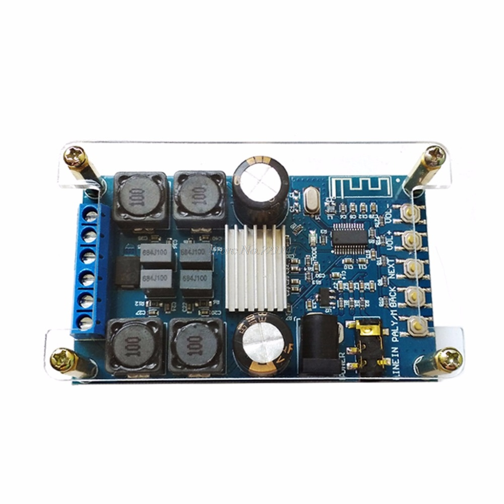 Bluetooth Digital Amplifier For Audio Power Board Dual Channel 50Wx2 Without POP Sound Integrated CircuitsBluetooth Digital Amplifier For Audio Power Board Dual Channel 50Wx2 Without POP Sound Integrated Circuits